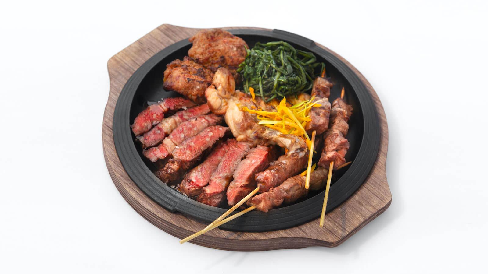 Grigliata di Carne con Arrosticini